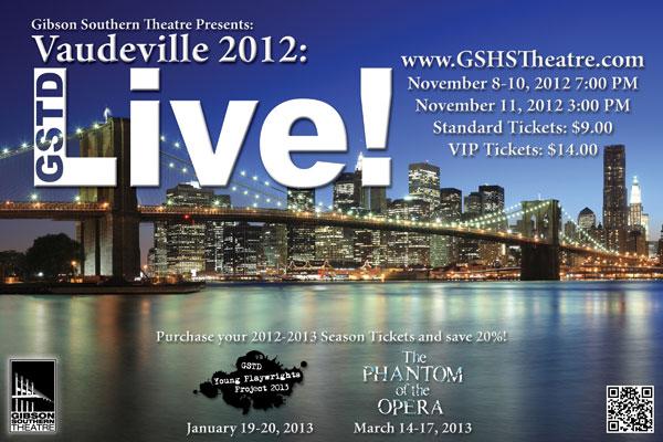 Vaudeville 2012: GSTD Live!